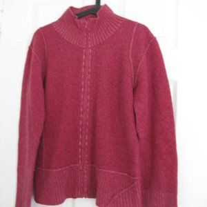 Tristan Zippered Front Cardigan